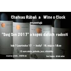 Degustácia Chateau Rúbaň vo Wine O Clock