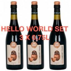 Hello World Trio 3 x 0,75