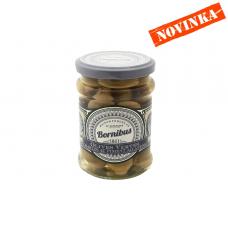 Olivy zelené plnené papričkami Jalapeno 140g  Bornibus