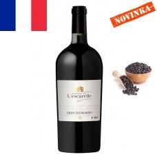 CROIX D'ENGARDIN Červené AOP  Provence 2015