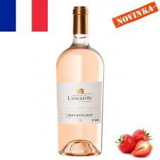 Ružové víno CROIX D'ENGARDIN Provence