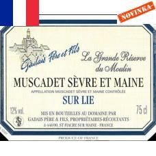 Gadais Muscadet Sévre et Maine Réserve du Moulin 2016 - 0,375 L