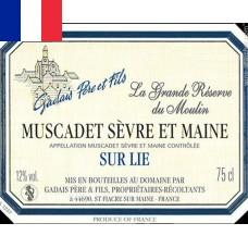 Gadais Muscadet Sévre et Maine Réserve du Moulin 2016