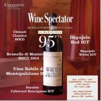 Set 6 vín  vín Carpineto Toskánsko